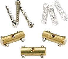 Kit Fender de Carrinhos para Ponte Telecaster '52 Pure Vintage Gold