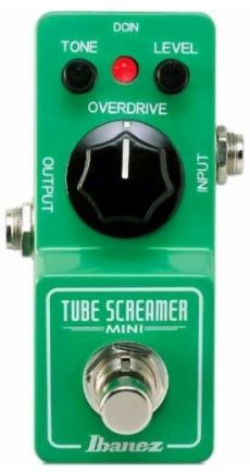 Pedal Ibanez TS Mini Tube Screamer | Overdrive | True Bypass | Para Guitarra