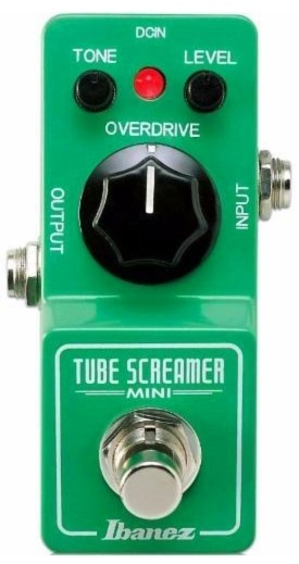 Pedal Ibanez TS Mini Tube Screamer | Overdrive | True Bypass | Para Guitarra  - foto principal 1
