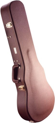 Case Gator GW LP Brown | Para Guitarra Les Paul | Madeira | Marrom