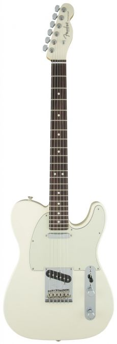 Guitarra Fender American Standard Telecaster | 017 0801 | Ltd Edition | Painted Headstock | Olympic White (705)