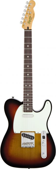 Guitarra Fender Squier Classic Vibe Telecaster Custom | 030 3030 | SS | 3-Color Sunburst (500)