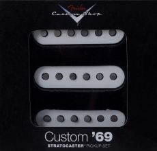 Kit de Captadores Fender Custom 69' Strat | SSS | Branco