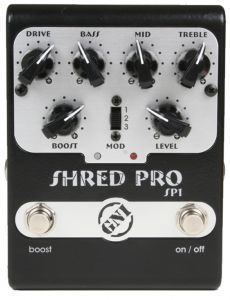 Pedal NIG Shred Pro | SP1 | Drive | Para Guitarra