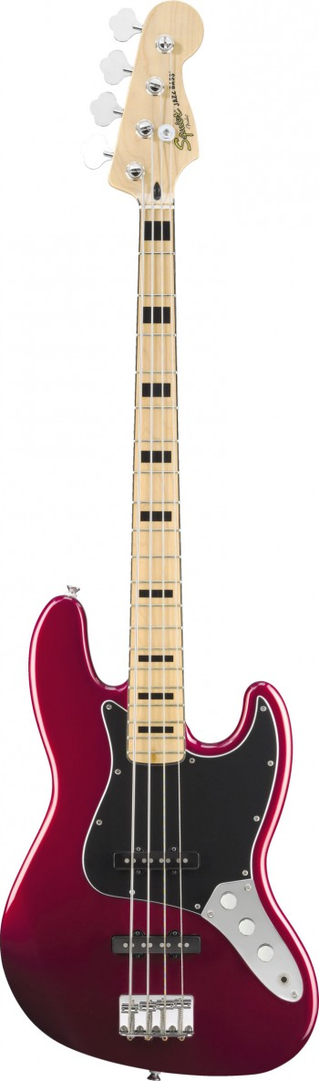 Baixo Fender Squier Vintage Modified Jazz Bass | 030 6702 | 4 Cordas | Candy Apple Red (509)  - foto principal 1