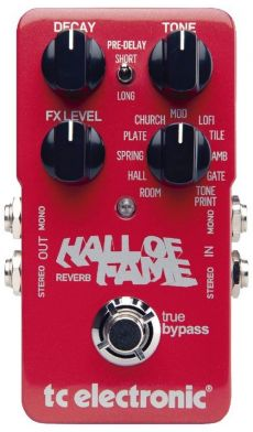Pedal TC Electronic Hall of Fame | Reverb | True Bypass