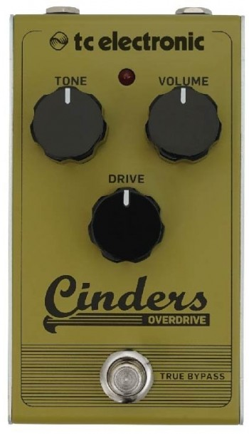 Pedal TC Electronic Cinders | Overdrive | True Bypass  - foto principal 1
