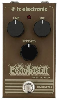 Pedal TC Electronic EchoBrain | Analog Delay | True Bypass