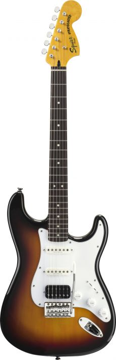 Guitarra Fender Squier Vintage Modified Stratocaster RW | 030 1215 | HSS | 3-Color Sunburst (500)