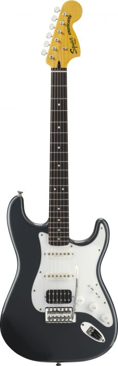 Guitarra Fender Squier Vintage Modified Stratocaster RW | 030 1215 | HSS | Charcoal Frost Metallic (569)