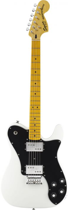Guitarra Fender Squier Vintage Modified Telecaster Deluxe | 030 1265 | HH | Olympic White (505)