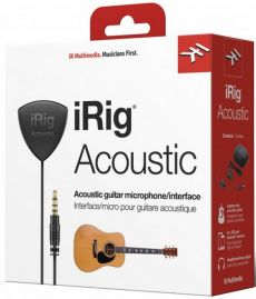 Interface iRig Acoustic | IK Multimedia | Microfone | Para Violão