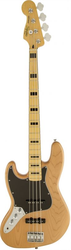Baixo Fender Squier Vintage Modified Jazz Bass LH | 030 6722 | 4 Cordas | Canhoto | Passivo | Natural (521)