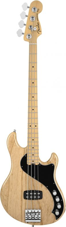 Baixo Fender American Deluxe Dimension Bass IV | 019 5402 | H | 4 Cordas | Case | Natural (721)