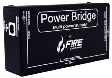Fonte Fire Custom Shop | Power Bridge 9V  | Bivolt | Para 10 Pedais | Preta