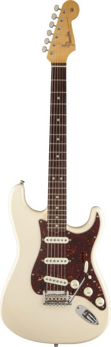 Guitarra Fender American Vintage Hot Rod Stratocaster 60s | 011 2400 | SSS | Case | Olympic White (805)