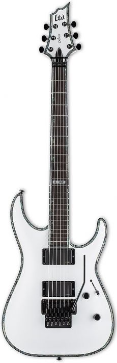 Guitarra ESP LTD H-1001 FR | Floyd Rose | EMG 85 e 81 | Snow White (SW)