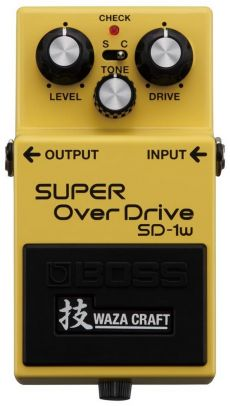 Pedal Boss SD-1W | Waza Craft | Super Overdrive | Para Guitarra