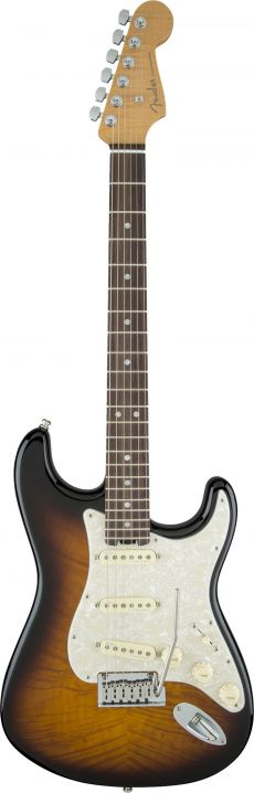 Guitarra Fender American Elite Strat RW SSS LTD Edition | 3 Color Sunburst