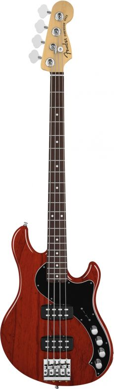 Baixo Fender Am Deluxe Active Dimension Bass IV 0195500 Cayenne Burst