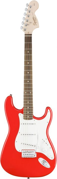 Guitarra Fender Squier Affinity Stratocaster | 031 0600 | SSS | Race Red