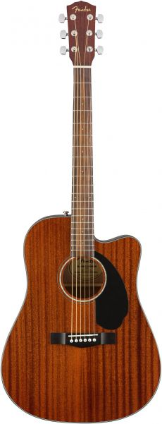 NOVO Violão Fender CD 60SCE | 096 1705 | Solid Top | All Mahogany (021)