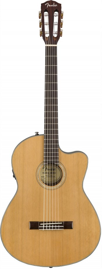 NOVO Violão Fender CN 140 SCE Thinline | Nylon | 096 2714 | Case | Natural (221)  - foto principal 1