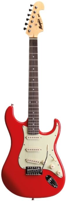 Guitarra Tagima Memphis MG 32 | Strato | Fiesta Red (FR)