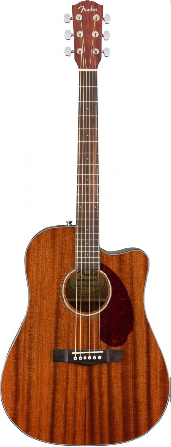 Violão Fender CD 140 SCE | 096 2705 | Case | Folk | Aço | All Mahogany (221)  - foto principal 1
