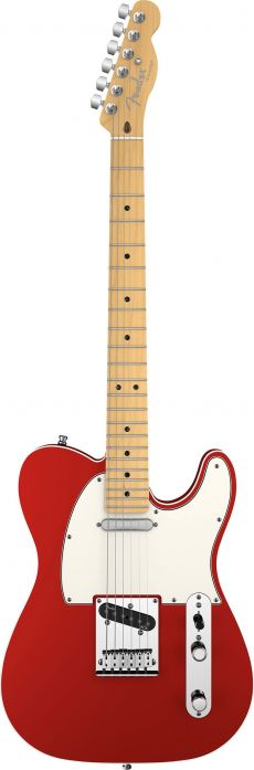 Guitarra Fender American Deluxe Telecaster | 011 9402 | Case | Candy Apple Red (709)
