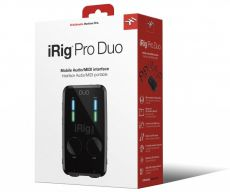 Interface Irig Pro DUO | MIDI | IK Multimedia | USADO
