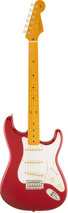 Guitarra Fender 50s Stratocaster Lacquer MN | 014 0061 | Case | Candy Apple Red (709)