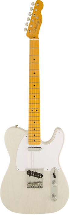 Guitarra Fender 50s Telecaster Lacquer MN | 014 0063 | White Blonde (701)