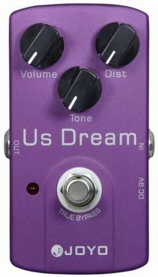 Pedal Joyo US Dream | JF 34 | Overdrive/Distortion | Para Guitarra