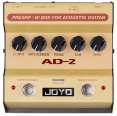 Pedal Joyo AD-2 | Preamp e Direct Box | Para Violão