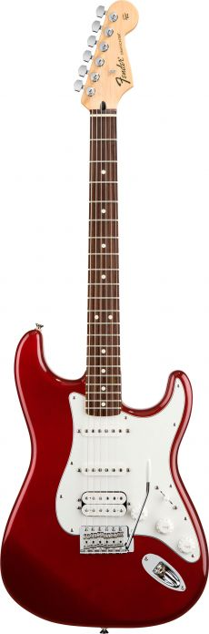 Guitarra Fender Standard Stratocaster RW HSS | 014 4700 | Candy Apple Red (509)