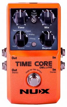 Pedal Nux Time Core Deluxe | Delay | Para Guitarra
