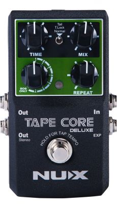 Pedal Nux Tape Core Deluxe | Delay | Para Guitarra