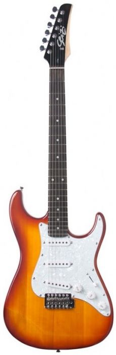 Guitarra Seizi Vision Strato | SSS | Bag | Honey Burst