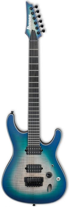 Guitarra Ibanez SIX6FDFM | Iron Label | HH | Blue Space Burst (BCB)