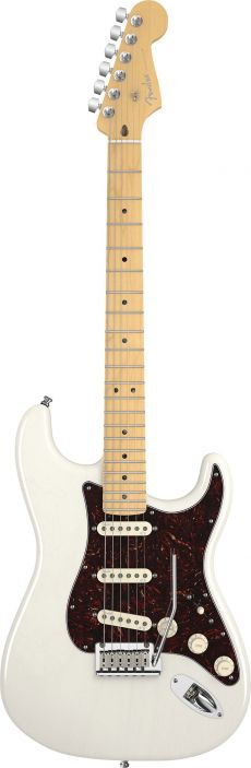 Guitarra Fender Am Deluxe Stratocaster Ash | 011 9302 | SSS | Case | White Blonde (701)