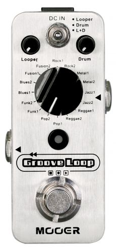 Pedal Mooer Groove Loop | Looper | Drum Machine