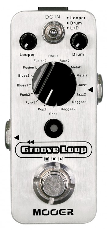 Pedal Mooer Groove Loop | Looper | Drum Machine  - foto principal 1