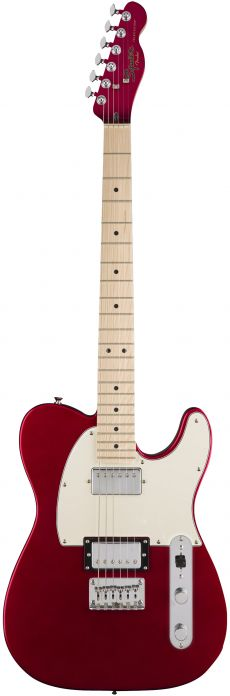 Guitarra Fender Squier Contemporary Telecaster HH MN | 037 1222 | Dark Metallic Red (525)