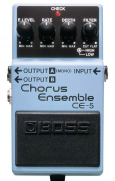 Pedal Boss CE-5 | Chorus Ensemble | Guitarra