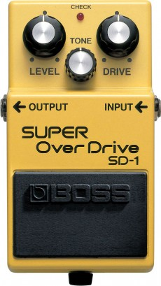 Pedal Boss SD-1 | Super Overdrive | Guitarra