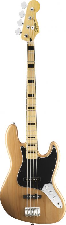 Baixo Fender Squier Vintage Modified Jazz Bass | Baseado no Marcus Miller ´77 |  030 6702 | 4 Cordas | Passivo | Natural (521)