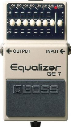 Pedal Boss GE-7 | Graphic Equalizer | Equalizador | Para Guitarra