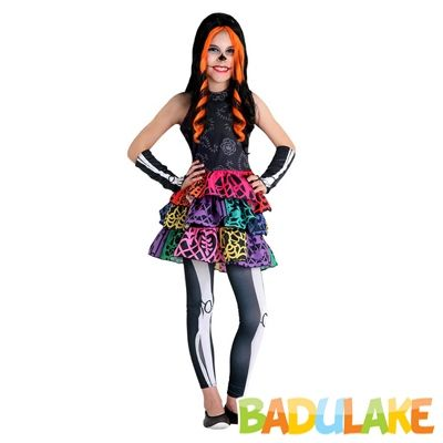 Fantasia Infantil Monster High Skelita LUXO