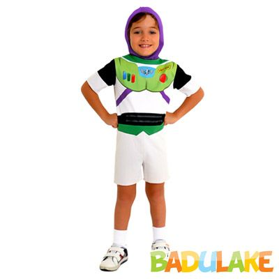 Fantasia Infantil Buzz Lightyear Toy Story